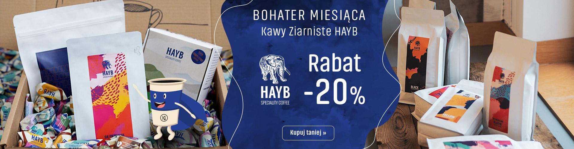 Konesso: 20% zniżki na kawy ziarniste HAYB