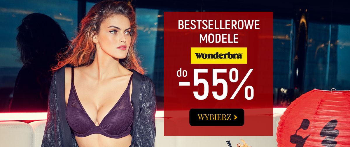 Kontri Kontri: do 55% rabatu na bestsellerowe modele biustonoszy Wonderbra