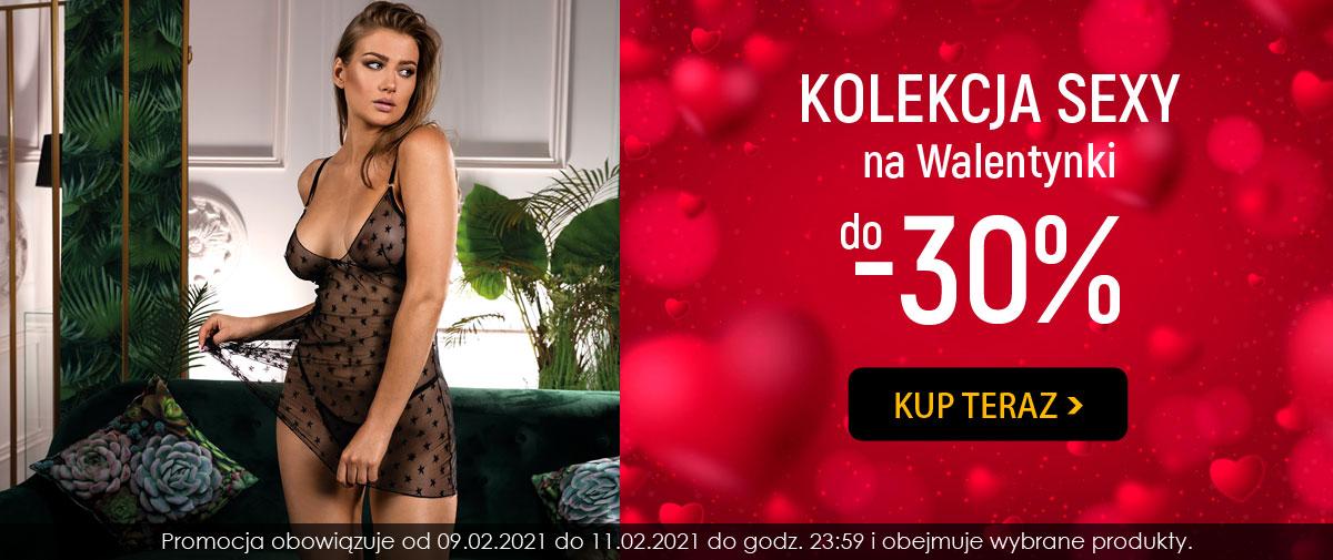 Kontri: do 30% zniżki na bieliznę z kolekcji Sexy - prezent na Walentynki