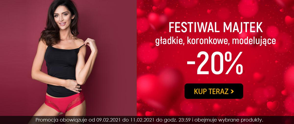 Kontri Kontri: 20% zniżki na majtki gładkie, koronkowe, modelujące - Festiwal Majtek