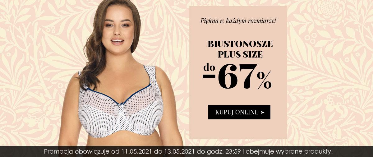 Kontri: do 67% zniżki na biustonosze Plus Size