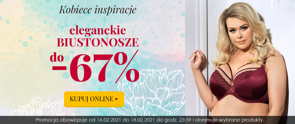 Kontri Kontri: promocja do 67% rabatu na eleganckie biustonosze