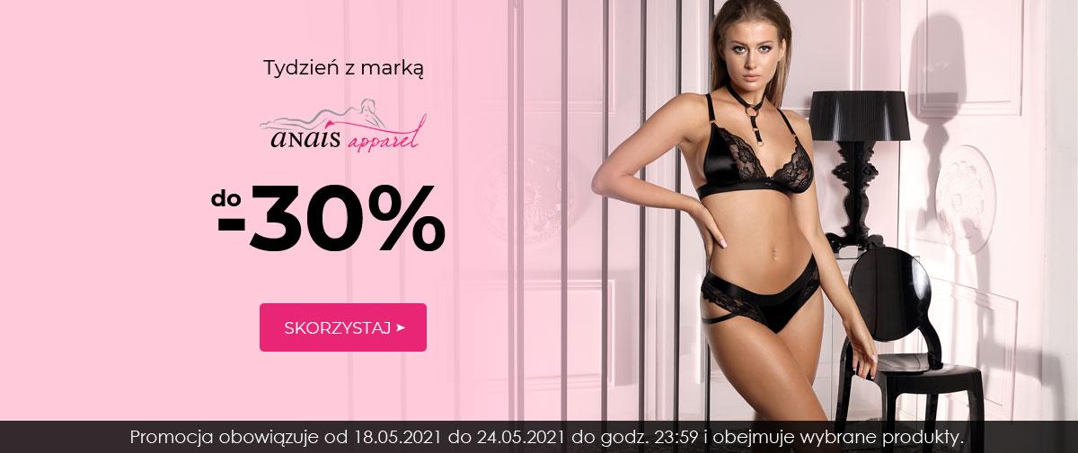Kontri: do 30% rabatu na bieliznę marki anais apparel