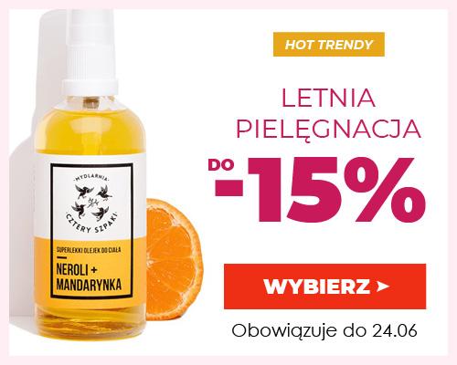 Kontri: do 15% zniżki na kosmetyki do letniej pielęgnacji
