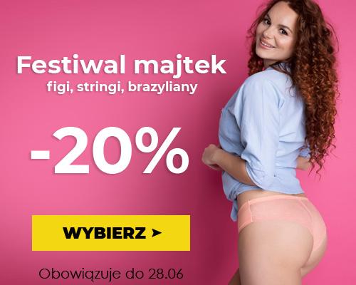 Kontri Kontri: 20% zniżki na figi, stringi, brazyliany - festiwal majtek