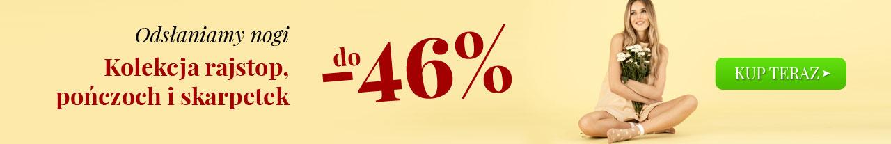 Kontri Kontri: do 46% zniżki na kolekcję rajstop, pończoch i skarpetek
