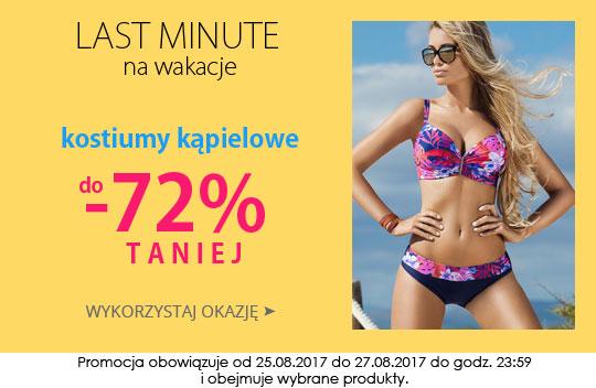 164c9fefe992ef Kontri: wyprzedaż do 72% zniżki na kostiumy kąpielowe