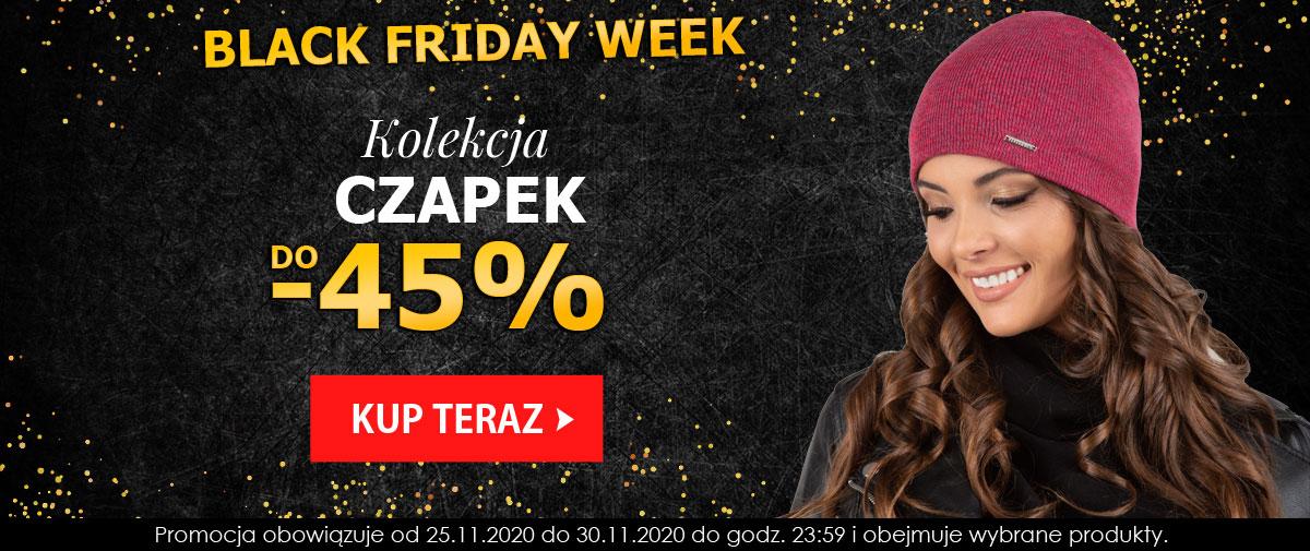 Kontri: Black Friday Week do 45% zniżki na czapki damskie i męskie