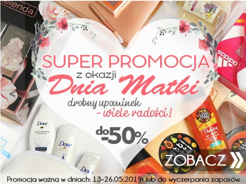 Kosmetyki z Ameryki: do 50% zniżki na wybrane kosmetyki i perfumy na Dzień Matki                         title=