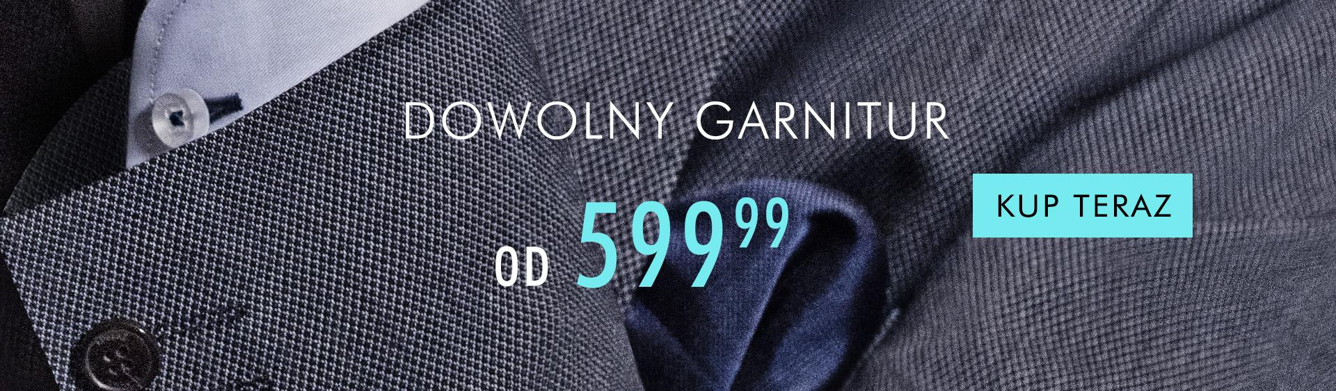 Kubenz: garnitury męskie od 599,99 zł