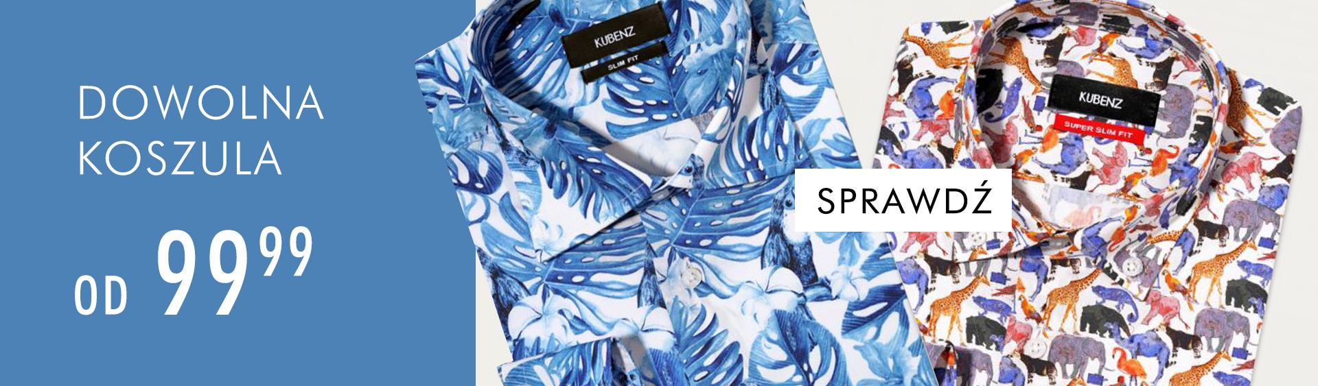 Kubenz: koszule męskie od 99,99 zł