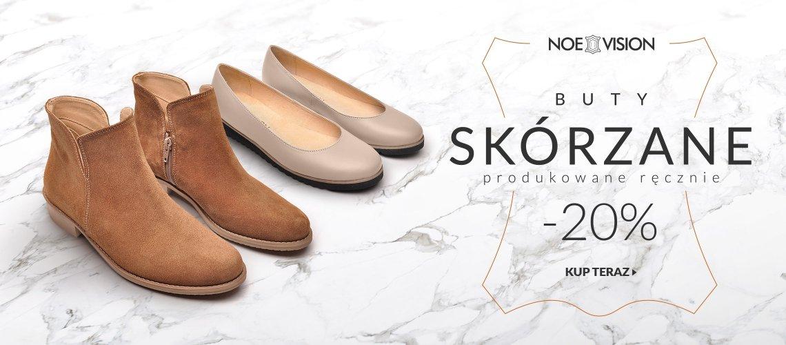 LaModa: 20% rabatu na buty skórzane marki Noe Vision produkowane ręcznie