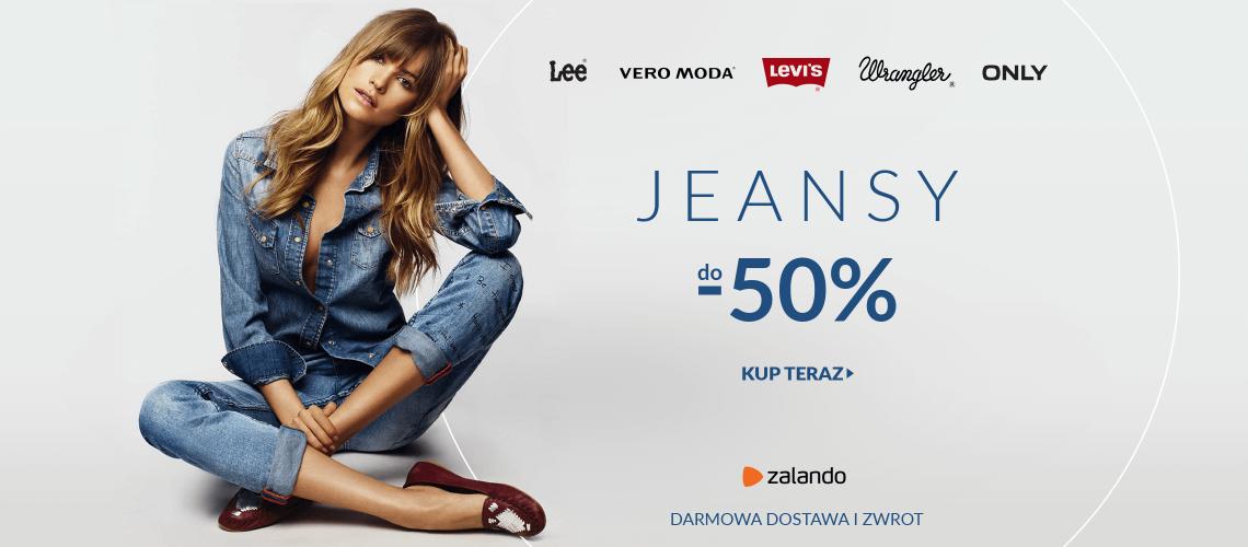 2cbb90da67 LaModa  do 50% zniżki na Jeansy znanych marek