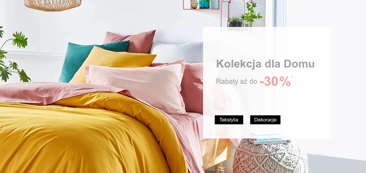 La Redoute: do 30% rabatu na tekstylia i dekoracje