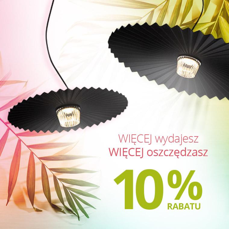 Lampy: 10% zniżki na lampy i oświetlenie