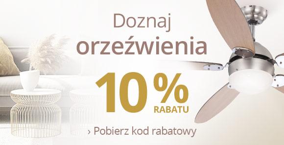 Lampy: 10% rabatu na wentylatory
