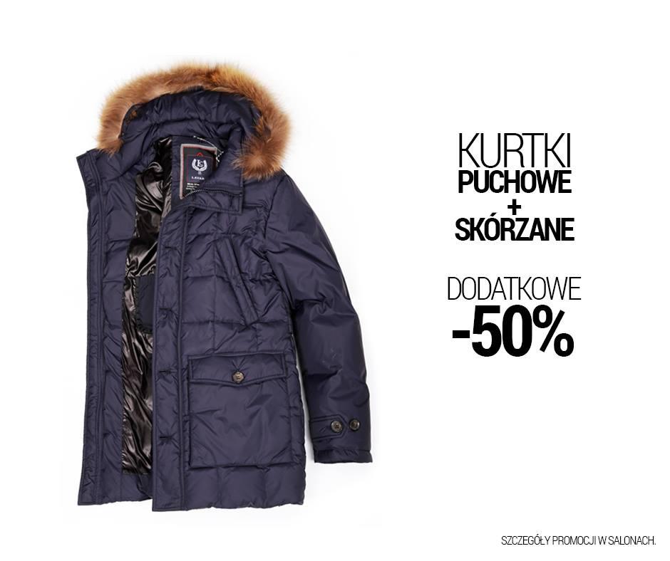 Lavard: dodatkowe 50% zniżki na kurtki puchowe oraz skórzone