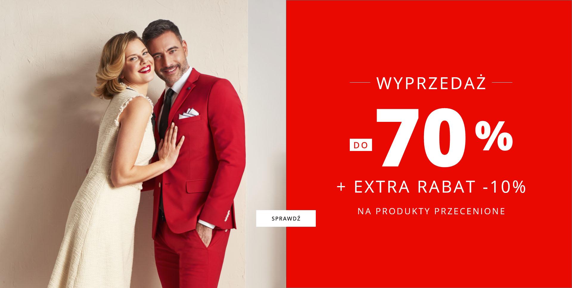Lavard: wyprzedaż do 70% zniżki na odzież męską oraz damską