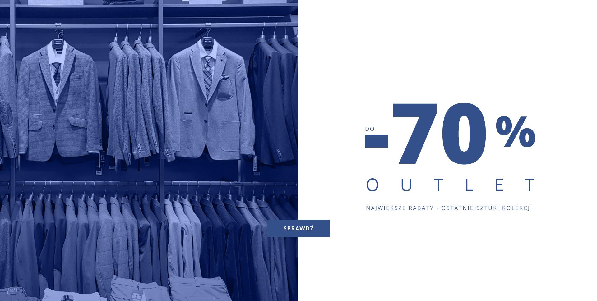 Lavard: do 70% rabatu na odzież męską oraz damską- ostatnie sztuki z outletu