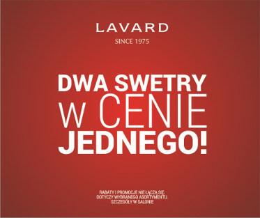 Lavard: dwa swetry w cenie jednego