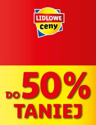 Lidl: do 50% rabatu na produkty spożywcze - lidlowe ceny
