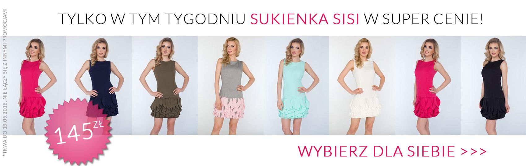 347c4a460e Limoda.pl  sukienka Sisi za 145 zł