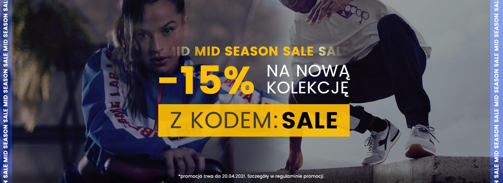 MM Sport: wyprzedaż 15% zniżki na asortyment nieprzeceniony - odzież, obuwie i akcesoria sportowe