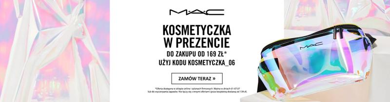 Mac Cosmetics: kosmetyczka w prezencie do zakupu od 169 zł