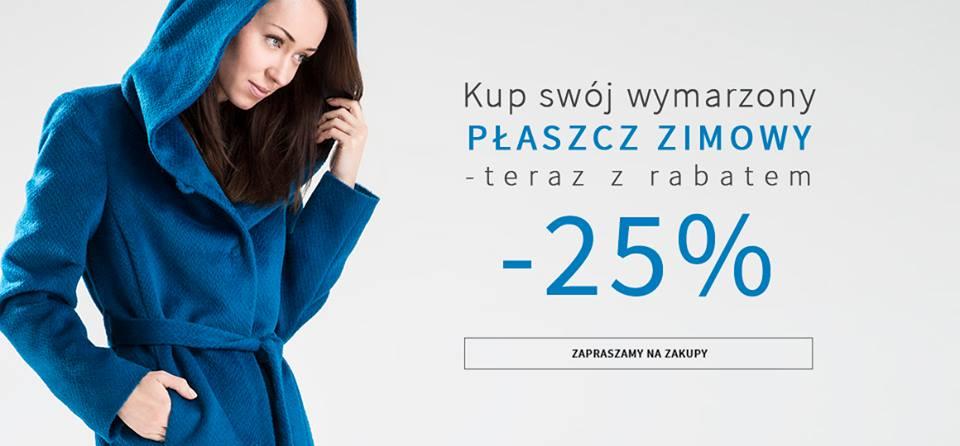 Makalu: 25% zniżki na płaszcze zimowe oraz kurtki                         title=
