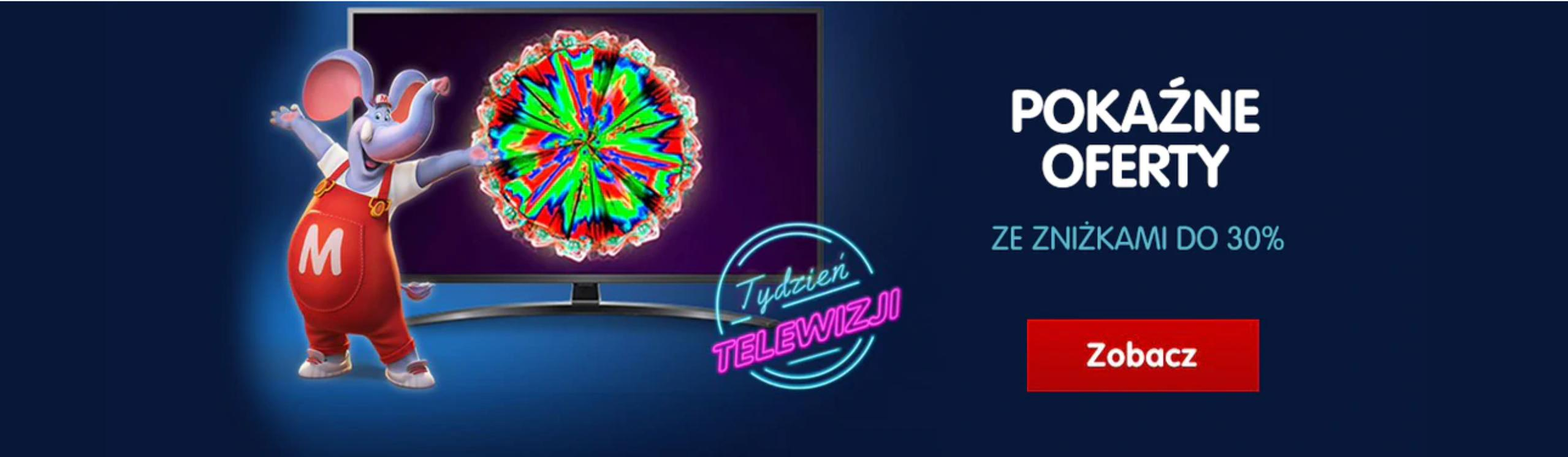 Mall: Tydzień Telewizji do 30% rabatu na telewizory