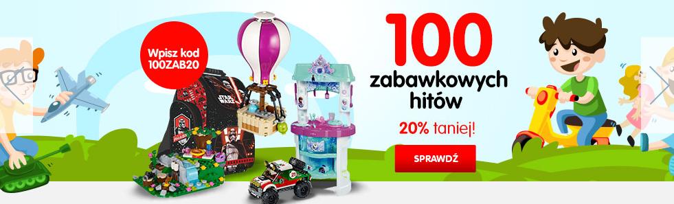 Mall: 20% zniżki na 100 zabawkowych hitów