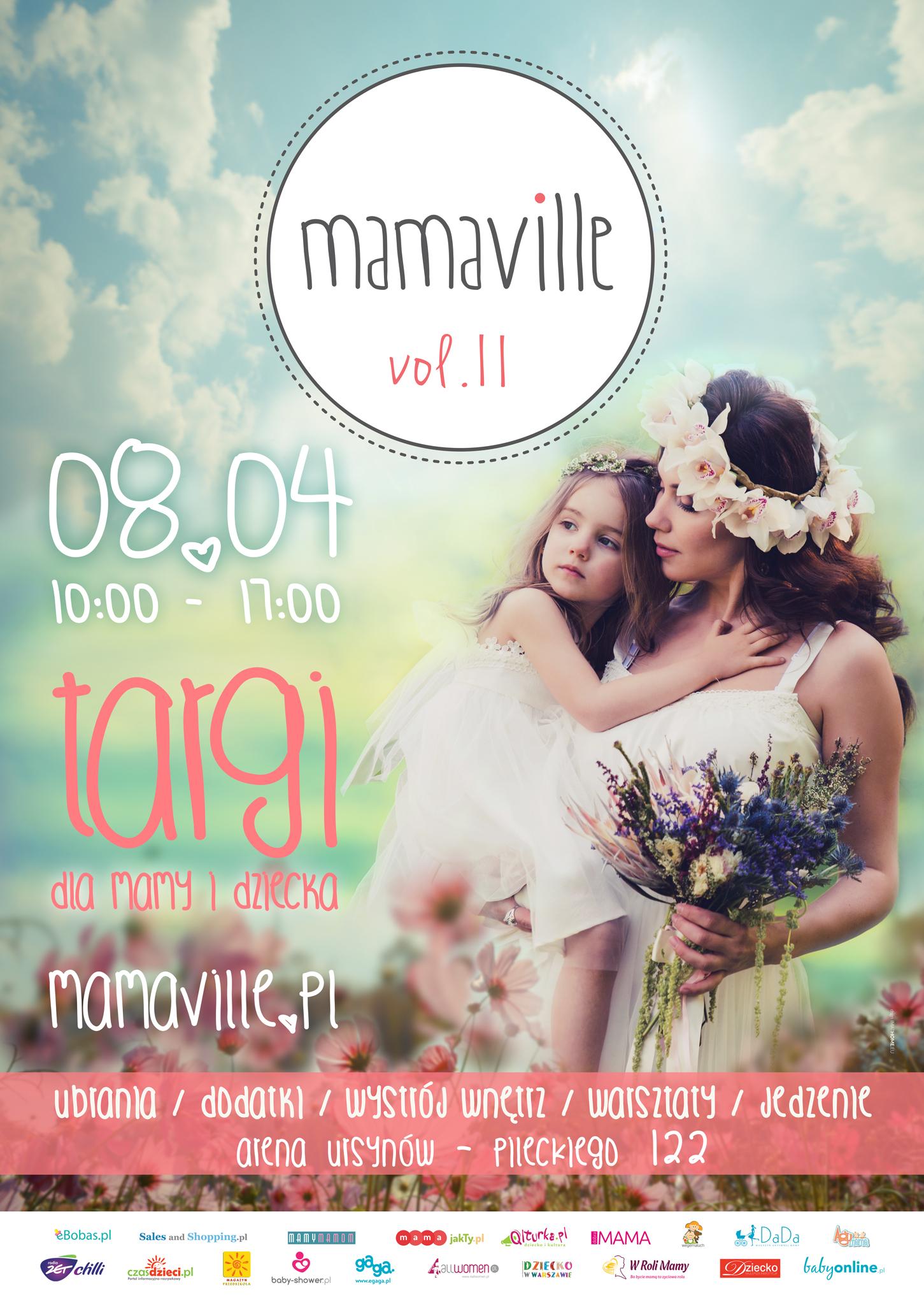 Targi Mamaville w Warszawie 8 kwietnia 2017
