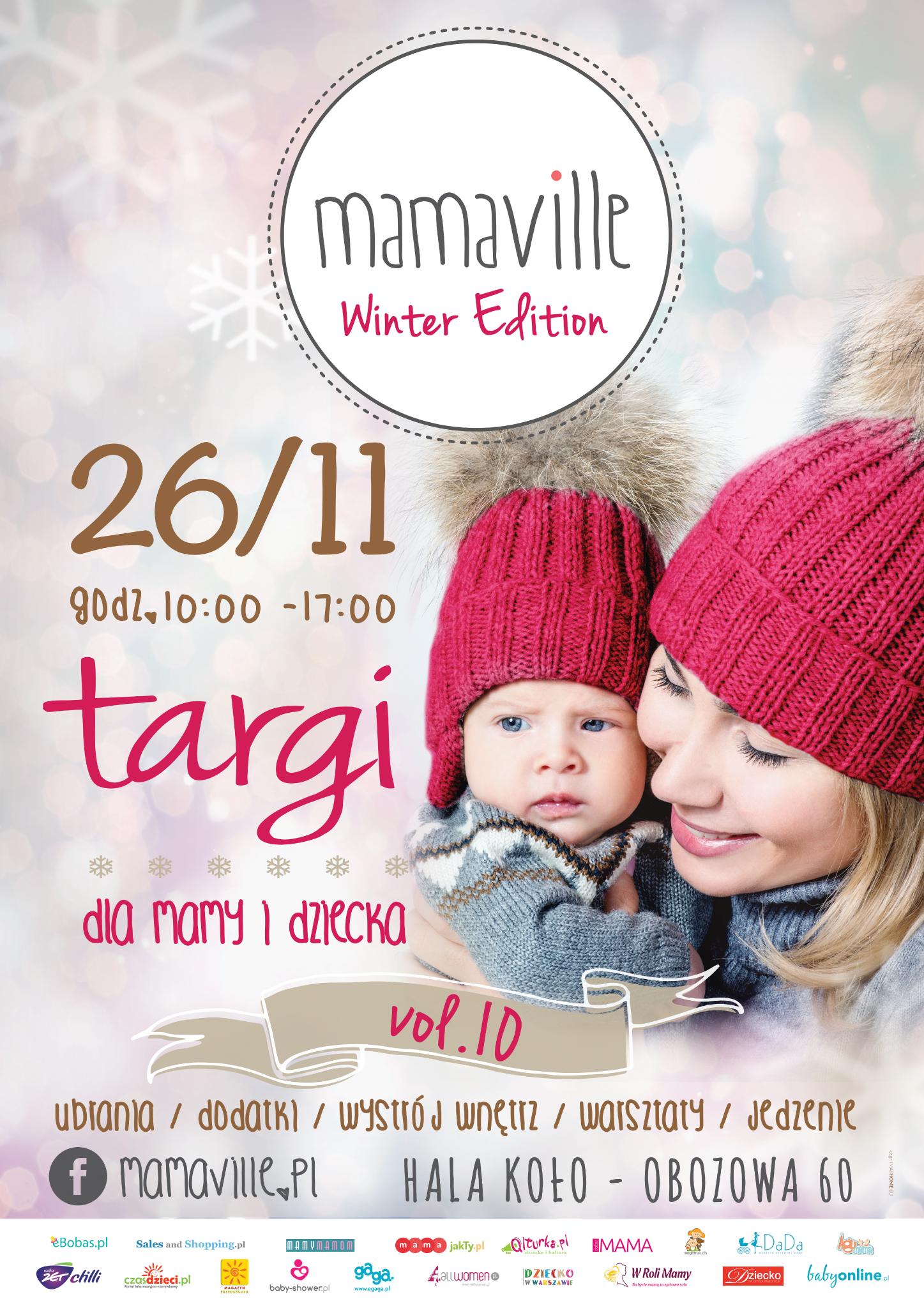 Targi Mamaville w Warszawie 26 listopada 2016