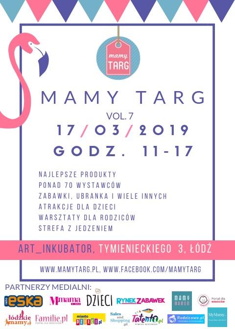Targi Rodzinne Mamy Targ 10 marca 2019 w Łodzi