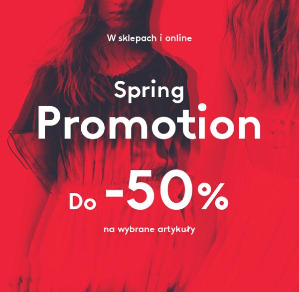 Mango: wiosenne promocje do 50% zniżki                         title=
