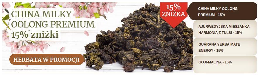 Manu Tea Manu Tea: 15% zniżki na wybrane herbaty sypane