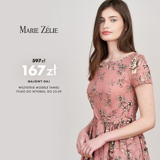 Marie Zelie: do 70% zniżki na ponad 1000 modeli odzieży damskiej - sukienki, spódnice