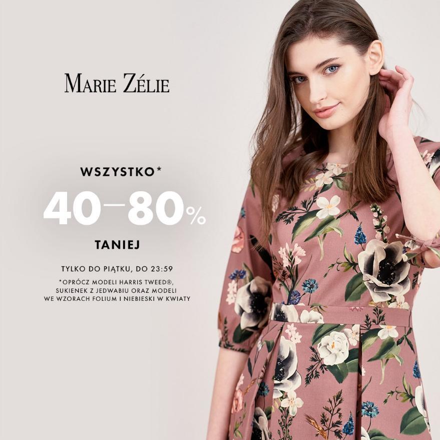 Marie Zelie: od 40% do 80% rabatu na odzież damską
