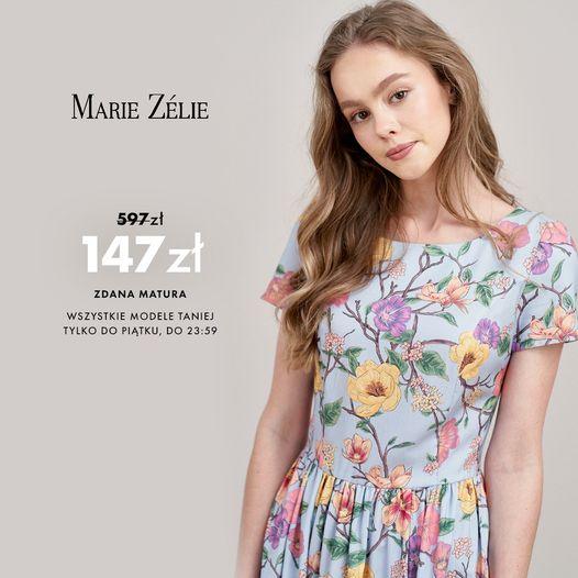 Marie Zelie: do 75% zniżki na odzież damską - sukienki