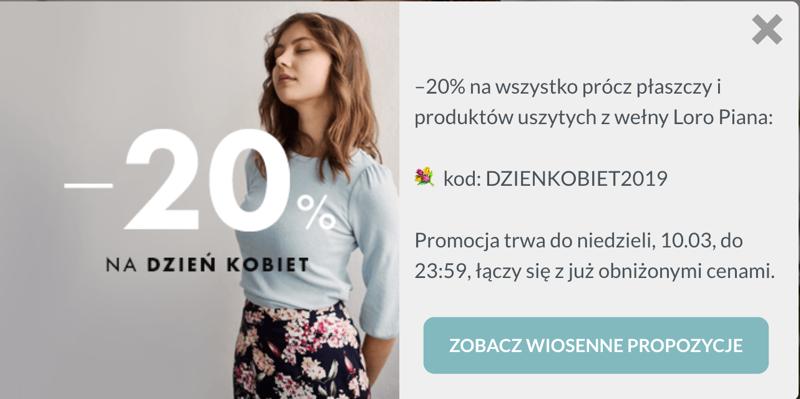Marie Zelie: z okazji Dnia Kobiet  20% rabatu na wszystko
