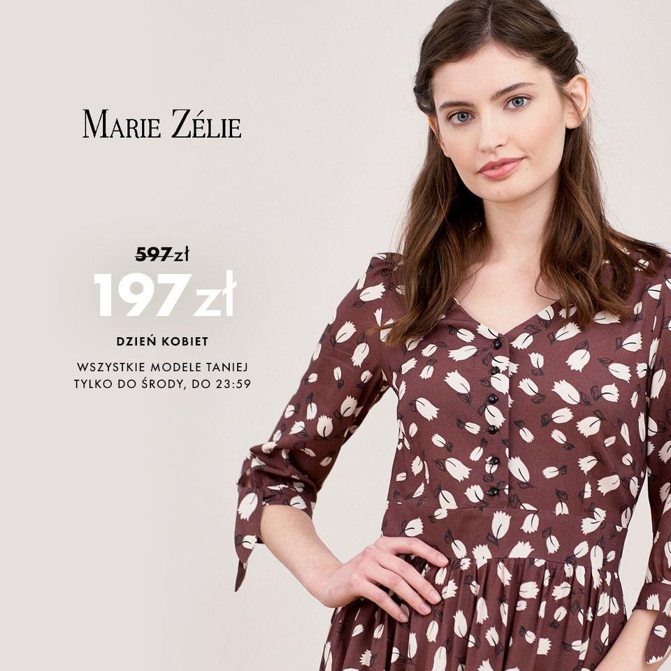 Marie Zelie: do 30% zniżki na wszystkie modele odzieży damskiej
