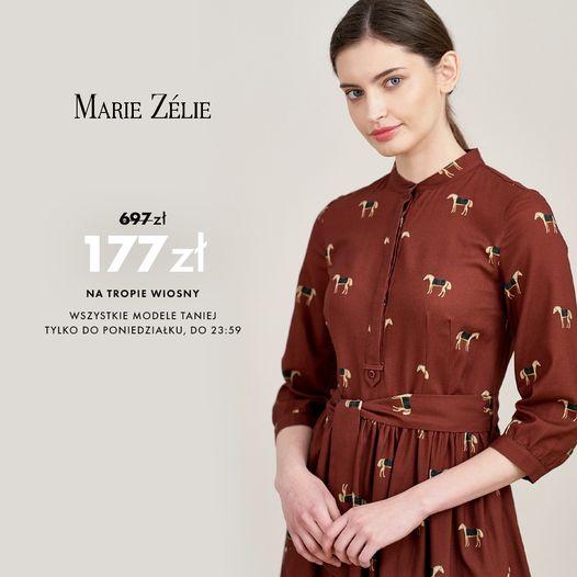 Marie Zelie: do 75% rabatu na odzież damską - sukienki wiosenne