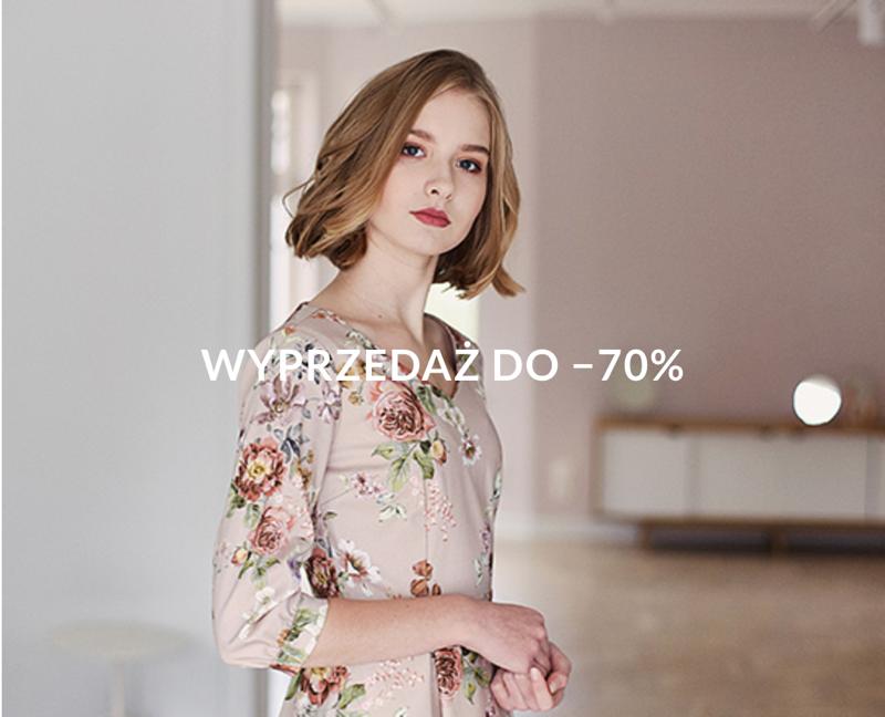 Marie Zelie: wyprzedaż do 70% rabatu na odzież damską