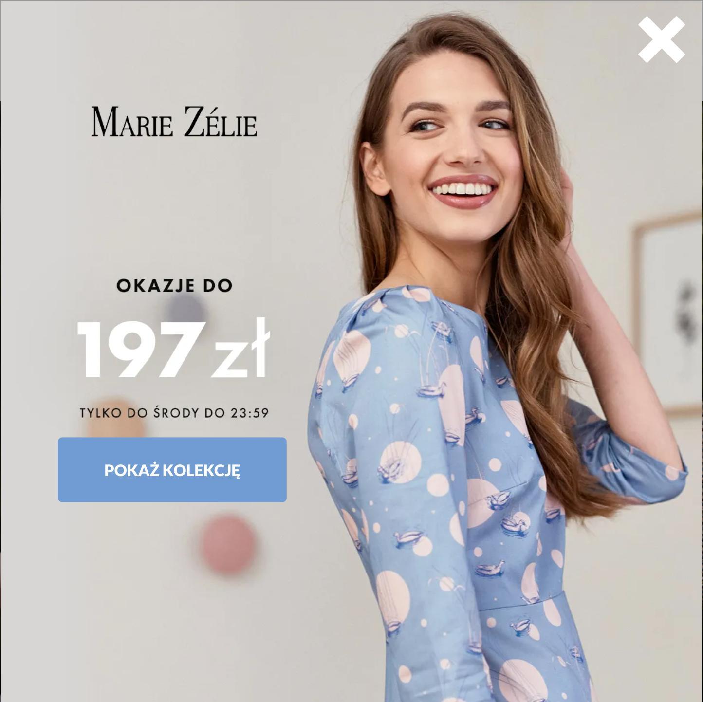 Marie Zelie: odzież damska do 197 zł