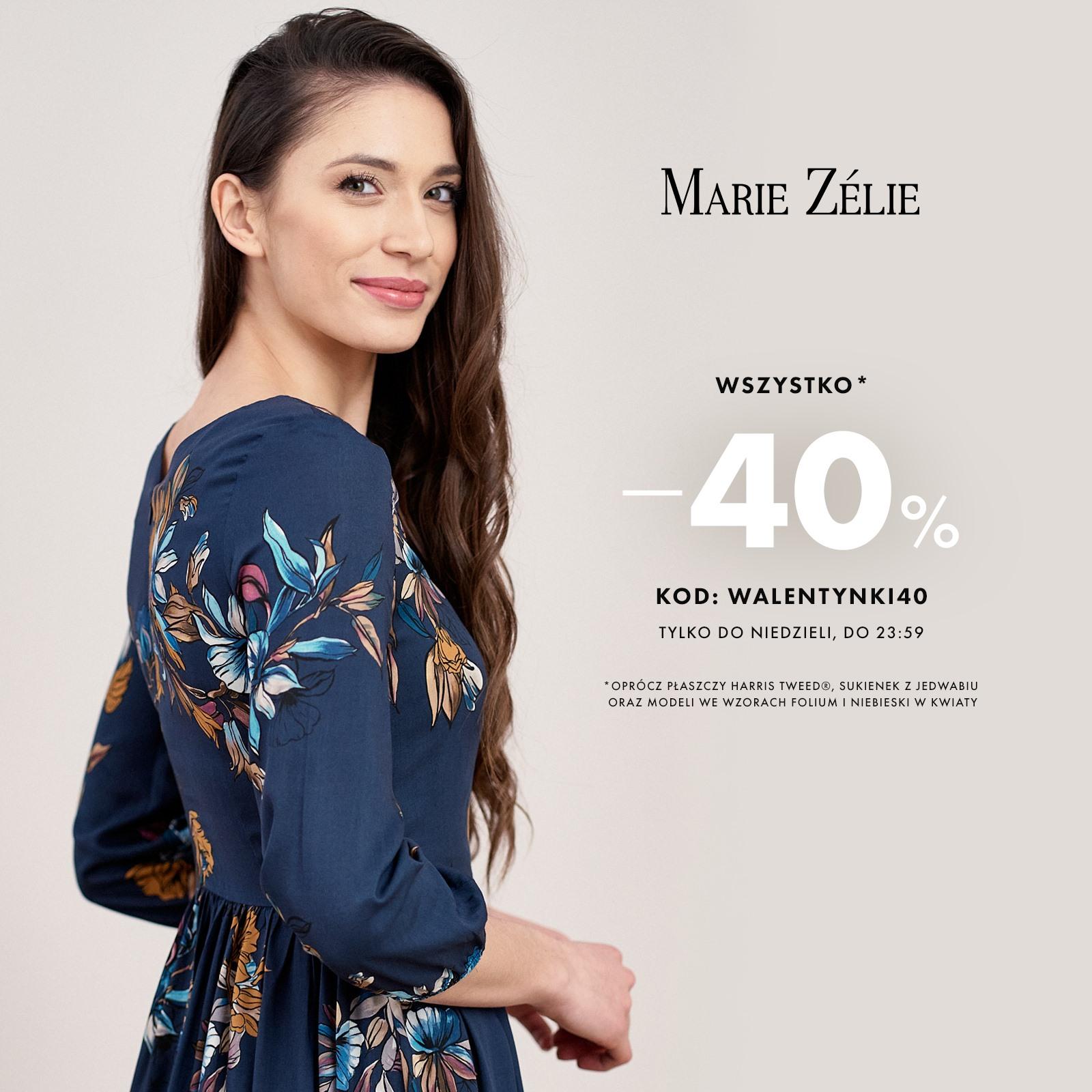 Marie Zelie: 40% rabatu na ponadczasową odzież damską