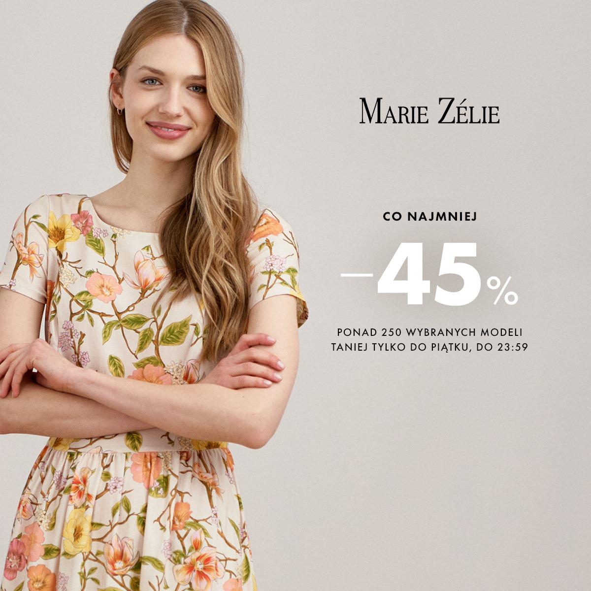 Marie Zelie: co najmniej 45% zniżki na ponad 250 modeli sukienek