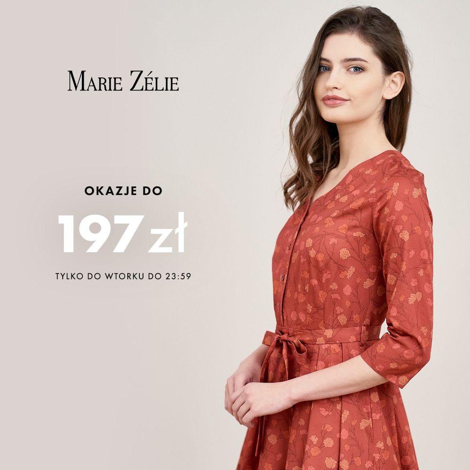 Marie Zelie: na specjalną kolekcję odzieży damskiej do 197 zł