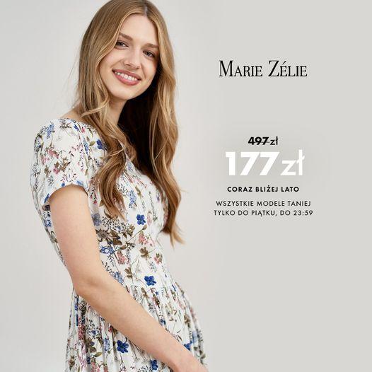 Marie Zelie: do 75% rabatu na odzież damską - sukienki, spódnice, bluzki, płaszcze