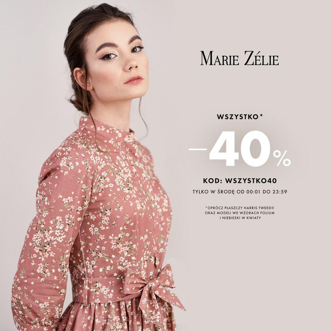 Marie Zelie: 40% rabatu na elegancką i piękną odzież damską