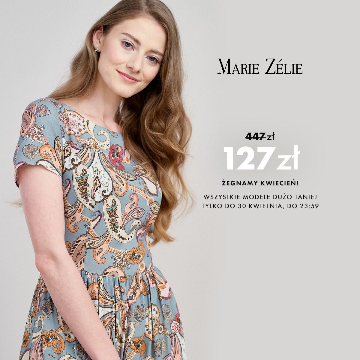 Marie Zelie: do 70% rabatu na odzież damską